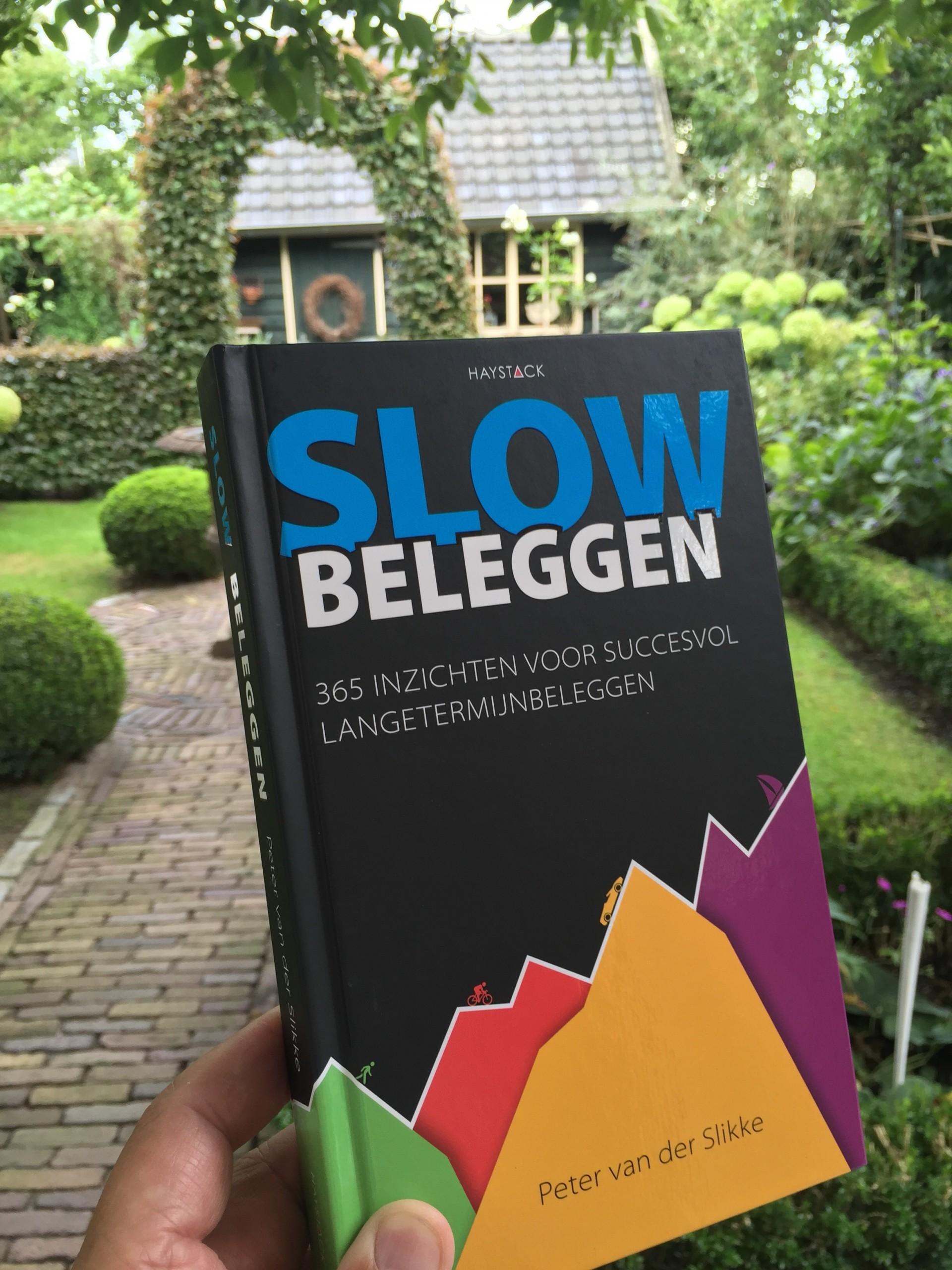 Boek Peter Slow beleggen